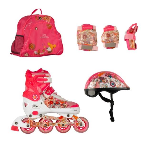 02a5c418bf7 Детски комплект ролери за момичета Flery   Цена Онлайн