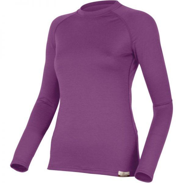 4cd6dfcc9ec Вълнена термо блуза Atila - лилава | Цена Онлайн