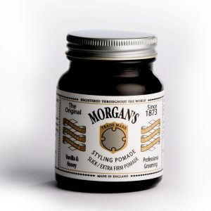 Стилизиращ брилянтин Morgan's Pomade, ултра силна с мед и ванилия